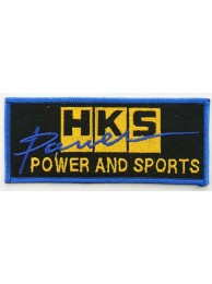 HKS POWER RACING SPORT EMBROIDERED PATCH #04