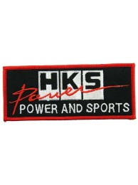 HKS POWER RACING SPORT EMBROIDERED PATCH #06