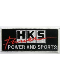 HKS POWER RACING SPORT EMBROIDERED PATCH #07