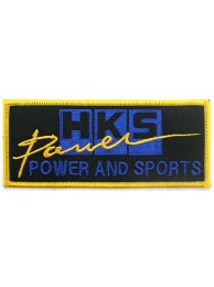 HKS POWER RACING SPORT EMBROIDERED PATCH #08