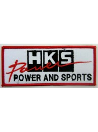 HKS POWER RACING SPORT EMBROIDERED PATCH #09
