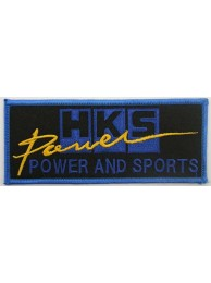 HKS POWER RACING SPORT EMBROIDERED PATCH #10