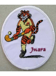 TIGER HOCKEY (JUARA) EMBROIDERED PATCH