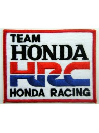 HONDA HRC RACING SPORT EMBROIDERED PATCH #02