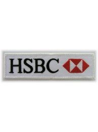 HSBC F1 Logo Embroidered Patch
