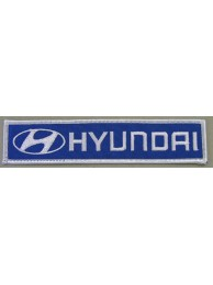 HYUNDAI AUTO IRON ON EMBROIDERED PATCH #01