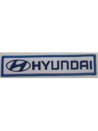 HYUNDAI AUTO IRON ON EMBROIDERED PATCH #02