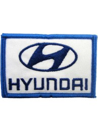 HYUNDAI AUTO IRON ON EMBROIDERED PATCH #03
