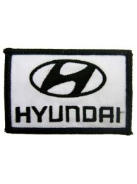 HYUNDAI AUTO IRON ON EMBROIDERED PATCH #04