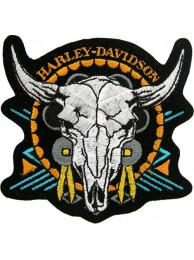 HARLEY DAVIDSON BIKER EMBROIDERED PATCH #02