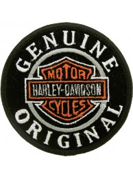 HARLEY DAVIDSON BIKER EMBROIDERED PATCH #15