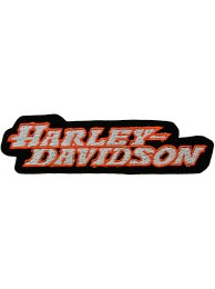 HARLEY DAVIDSON BIKER EMBROIDERED PATCH #50a