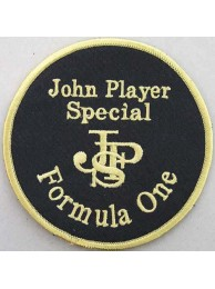 JPS JOHN PLAYER SPCIAL RACING SPORT EMBROIDERED PATCH #02