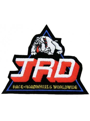 JRD RACING SPORT IRON ON EMBROIDERED PATCH #02