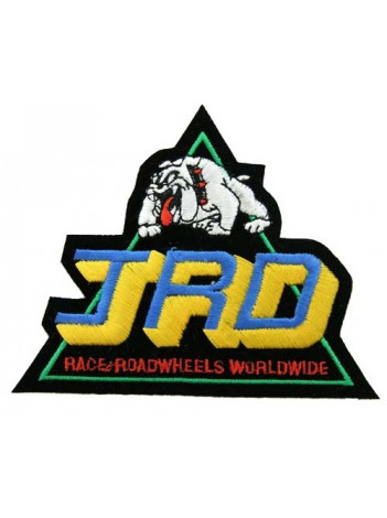JRD RACING SPORT IRON ON EMBROIDERED PATCH #01