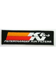K & N RACING SPORT EMBROIDERED PATCH #01