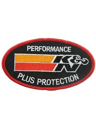 K & N RACING SPORT EMBROIDERED PATCH #05