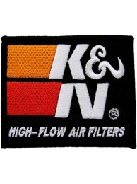 K & N RACING SPORT EMBROIDERED PATCH #06