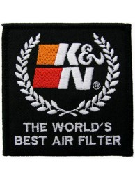 K & N RACING SPORT EMBROIDERED PATCH #07