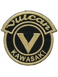 KAWASAKI VULCAN BIKER (SHINY GOLD) PATCH #07