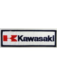 KAWASAKI BIKER MOTORCYCLE EMBROIDERED PATCH #16