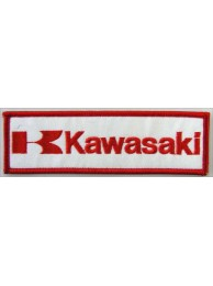 KAWASAKI BIKER MOTORCYCLE EMBROIDERED PATCH #17