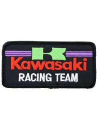 KAWASAKI BIKER MOTORCYCLE EMBROIDERED PATCH #18