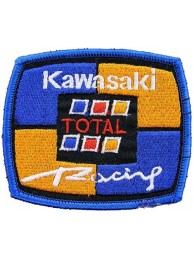 KAWASAKI BIKER MOTORCYCLE EMBROIDERED PATCH #19
