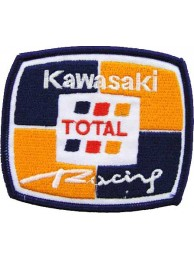 KAWASAKI BIKER MOTORCYCLE EMBROIDERED PATCH #20