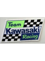 KAWASAKI BIKER MOTORCYCLE EMBROIDERED PATCH #22