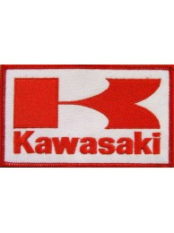 KAWASAKI BIKER MOTORCYCLE EMBROIDERED PATCH #23