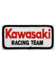 KAWASAKI BIKER MOTORCYCLE EMBROIDERED PATCH #24