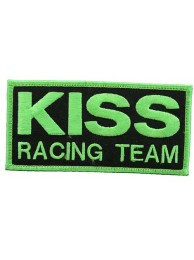 KISS RACING RACING SPORT IRON ON EMBROIDERED PATCH #01