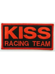 KISS RACING RACING SPORT IRON ON EMBROIDERED PATCH #02