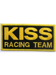 KISS RACING RACING SPORT IRON ON EMBROIDERED PATCH #04