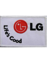 LG - Life's Good Iron On Embroidered Patch #02