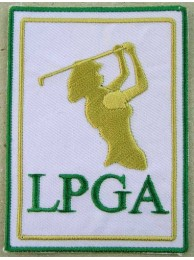 LPGA GOLF EMBROIDERED PATCH #08