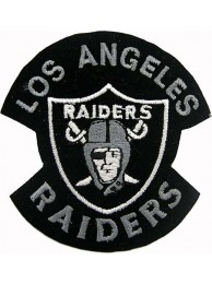 Los Angeles Raiders NFL Embroidered Patch #02