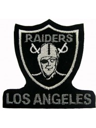 Los Angeles Raiders NFL Embroidered Patch #03