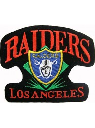 Los Angeles Raiders NFL Embroidered Patch #09a