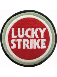 LUCKY STRIKE BIKER EMBROIDERED PATCH #10