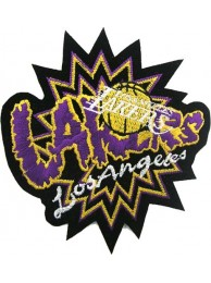 LOS ANGELES LAKERS NBA BASKETBALL EMBROIDERED PATCH #04