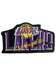 LOS ANGELES LAKERS NBA BASKETBALL EMBROIDERED PATCH #06