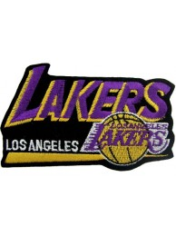 LOS ANGELES LAKERS NBA BASKETBALL EMBROIDERED PATCH #07