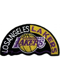 LOS ANGELES LAKERS NBA BASKETBALL EMBROIDERED PATCH #09