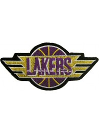 LOS ANGELES LAKERS NBA BASKETBALL EMBROIDERED PATCH #10