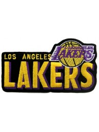 LOS ANGELES LAKERS NBA BASKETBALL EMBROIDERED PATCH #13