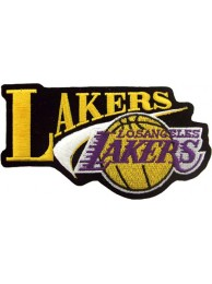 LOS ANGELES LAKERS NBA BASKETBALL EMBROIDERED PATCH #16