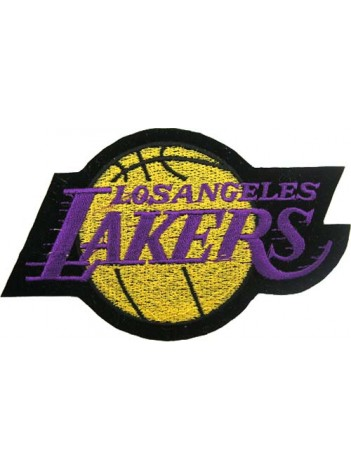 LOS ANGELES LAKERS NBA BASKETBALL EMBROIDERED PATCH #18