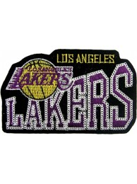 LOS ANGELES LAKERS NBA BASKETBALL EMBROIDERED PATCH #21